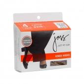 JMS Sheer Toe Knee High 4 Pack