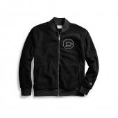 Champion Men's Heritage Sherpa Jacket, Felt Block C Logo
