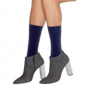 Hanes Perfect X-Temp Opaque Mid Calf Socks 2-Pack