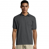 Men's 5.2 oz. 50/50 EcoSmart® Jersey Pocket Polo