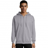Adult 9.7 oz. Ultimate Cotton 90/10 Full-Zip Hood