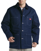 Unisex Denim Blanket Lined Chore Coat