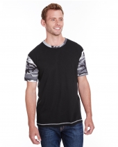 Men'S Adult Fashion Camo T-Shirt