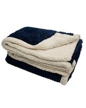 50X60 Corduroy Lambswool Throw Blanket