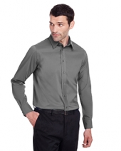 Men'S Crown Collection? Stretch Broadcloth Slim Fit Shirt
