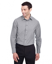 Men'S Crown  Collection? Stretch Pinpoint Chambray Shirt