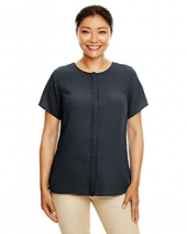 Ladies' Perfect Fit?  Short-Sleeve Crepe Blouse