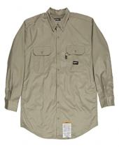 Men'S Flame-Resistant Button-Down Work Shirt