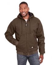 Men'S Highland Washed Cotton Duck Hooded Jacket