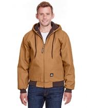 Men'S Heritage Cotton Duck Hooded Jacket