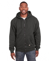 Men'S Heritage Thermal-Lined Full-Zip Hooded Sweatshirt