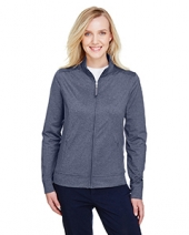 Ladies' Navigator Heather Performance Full-Zip