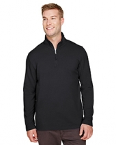 Men'S Coastal Pique Fleece Quarter-Zip