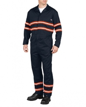 Men'S Enhanced Visibility Long-Sleeve Coverall