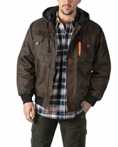 Men'S Modern Work Tuff Hooded Coat