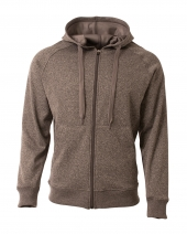 Men's Agility Full-Zip Tech Fleece Hooded Sweatshirt