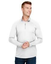 Adult Daily Polyester 1/4 Zip Raglan sleeves