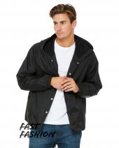 Fast Fashion Hooded Coaches Jacket