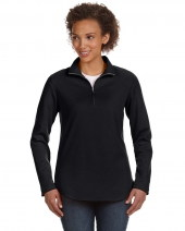 Ladies' Quarter-Zip French Terry Pullover