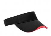 Polo Twill Bound Adjustable Visor