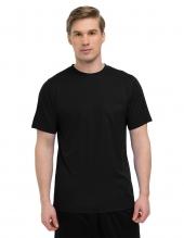 Tri Mountain K020Pcn Vital Pocket Crew Moisture-Wicking Shirt