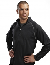 Tri Mountain 638 Reflex Men'S Knit Pullover Shirt.