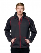 Tri Mountain F7173 Cf-2 Men'S Full Zip Hoody