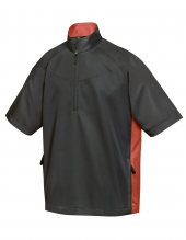 Tri Mountain 2610 Icon Water Resistant 1/2 Zip Short Sleeve Windshirt