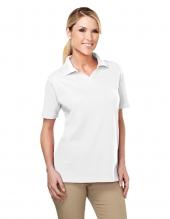 Tri Mountain 91 Newport Women'S Johnny Collar Easy Care Golf Shirt