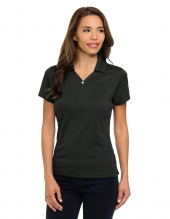 Tri Mountain 156 Vision Women'S Ultracool Pique Y-Neck Golf Shirt