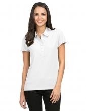 Tri Mountain 103 Stamina Women'S Waffle Knit Golf Shirt
