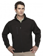 Tri Mountain 6400 Flight Men'S Poly Stretch Bonded Soft Shell Jacket
