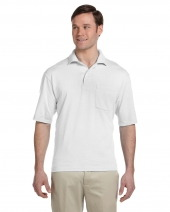 Adult 5.6 oz. SpotShield™ Pocket Jersey Polo