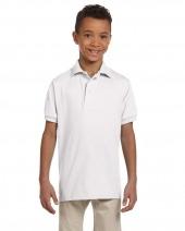 Youth 5.6 oz. SpotShield™ Jersey Polo
