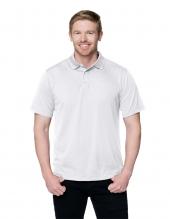 Tri Mountain K020 Vital Men'S 100% Polyester Knit Short Sleeve Golf Shirt