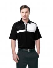 Tri Mountain K109 Marquis Men'S 100% Polyester Knit Short Sleeve Golf Shirt