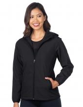 Tri Mountain Jl6355 Odessa Women'S Bonded Soft Shell Hooded Jacket