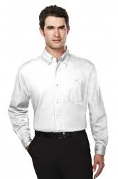 Tri Mountain 810 Executive Men'S Cotton Long Sleeve Twill Shirt