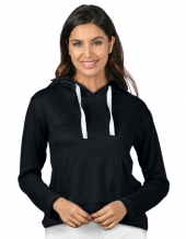 Tri Mountain Lb651 Cassidy Women'S Pullover Heather Knit Hoody