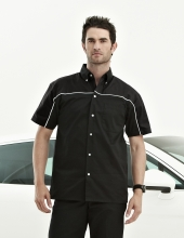 Tri Mountain 908 Downshifter Tmr 60/40 Twill Shirt With Piping