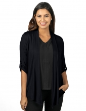 Tri Mountain Lb648 Mila Women'S 3/4 Sleeve Knit Cardigan