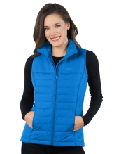 Tri Mountain Jl8258 Lacey Vest Women'S Quilted Puffer Vest