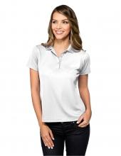 Tri Mountain Kl020 Lady Vital Short Sleeve Polo Shirt
