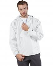 Adult Packable Anorak 1/4 Zip Jacket