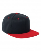 Adult Wool Blend Snapback Two-Tone Cap
