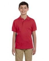 Youth 6.5 oz. Ringspun Cotton Piqué Polo