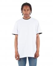 Adult 5.9 oz., Double Layer Short-Sleeve Crewneck T-Shirt