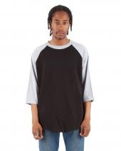 Adult 6 oz., 3/4-Sleeve Raglan T-Shirt
