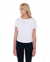 Ladies' 3.5 oz., 100% Cotton New Dolman T-Shirt