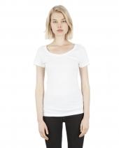 Ladies' 4.6 oz. Modal Scoop Neck T-Shirt